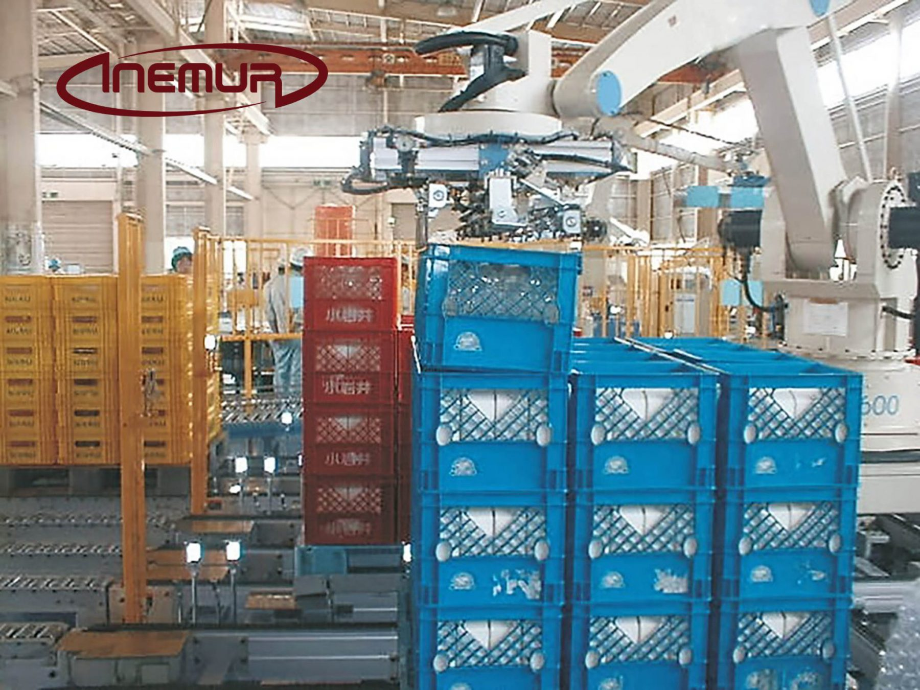 Palletising and depalletising packages