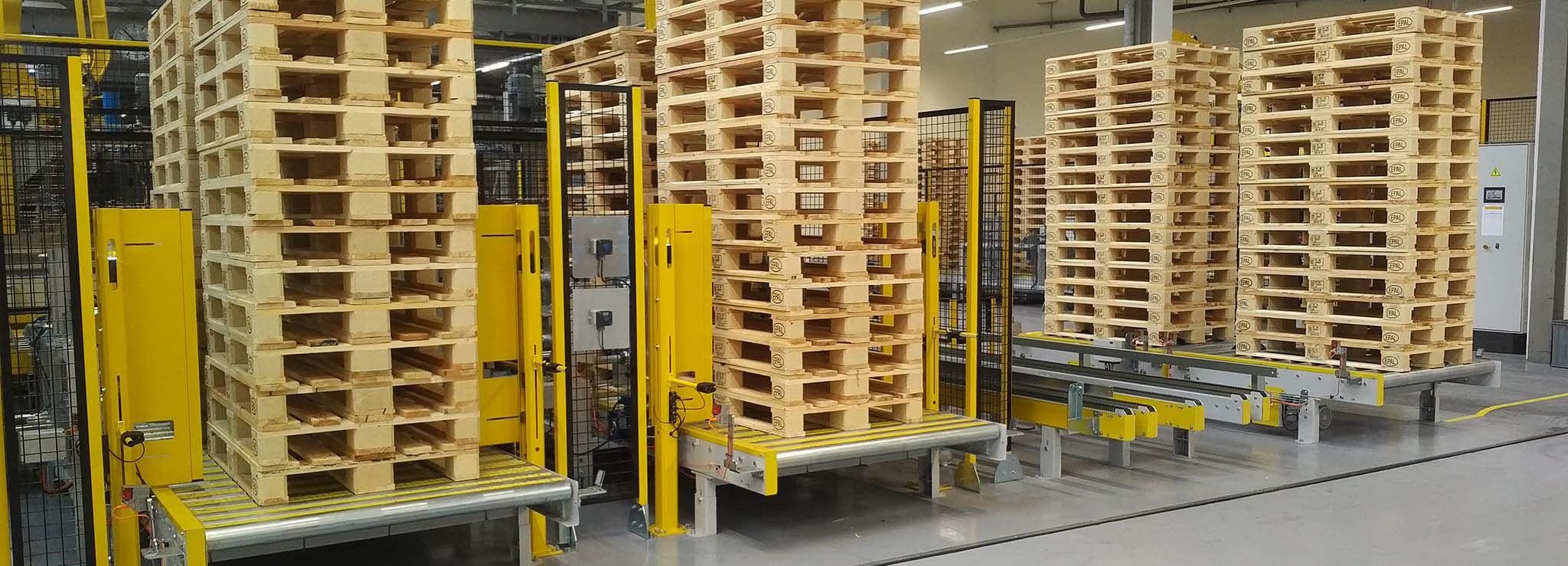 Moving pallets