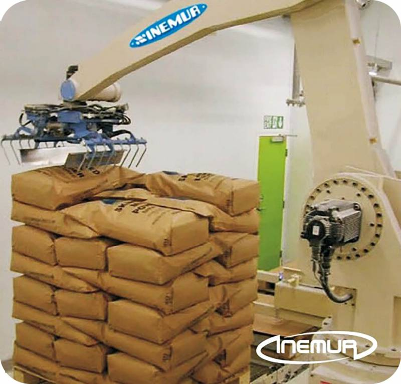Sacks and bags palletising 2