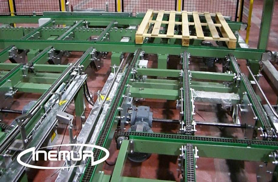 Pallet conveyors 7